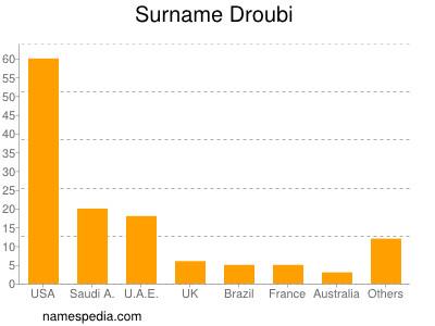 Surname Droubi
