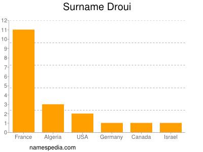 Surname Droui