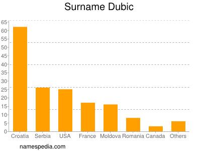Surname Dubic