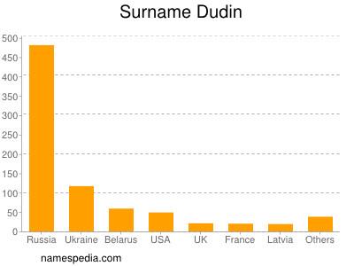 Surname Dudin