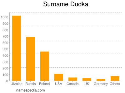 Surname Dudka
