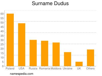 Surname Dudus