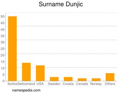 Surname Dunjic
