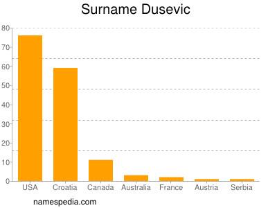 Surname Dusevic