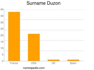 Surname Duzon