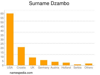Surname Dzambo