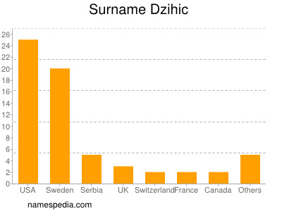 Surname Dzihic