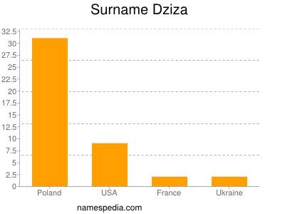 Surname Dziza
