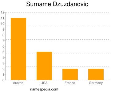 Surname Dzuzdanovic
