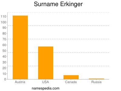 Surname Erkinger