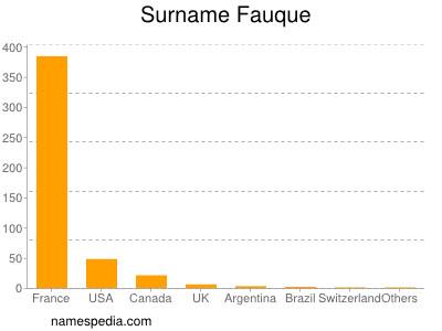 Surname Fauque