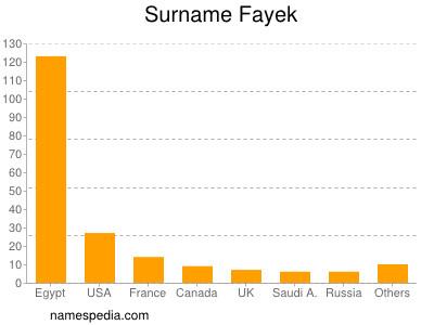 Surname Fayek