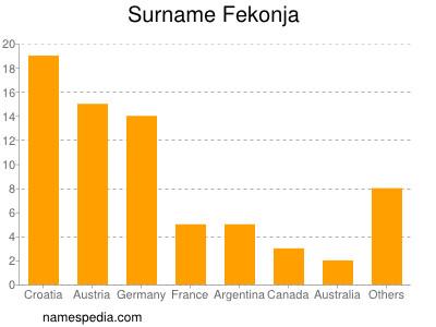 Surname Fekonja