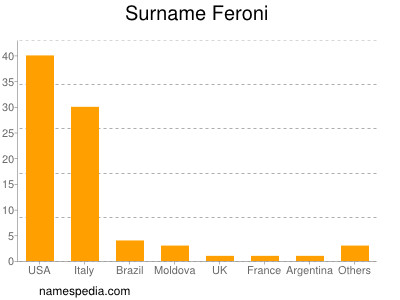 Surname Feroni