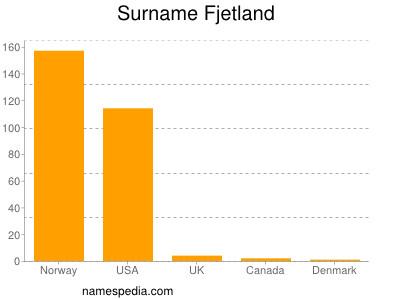 Surname Fjetland