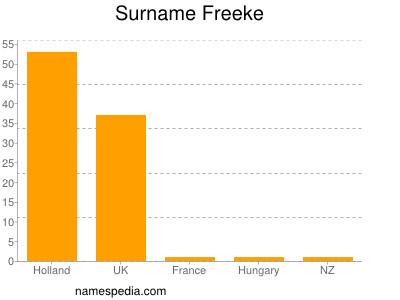 Surname Freeke