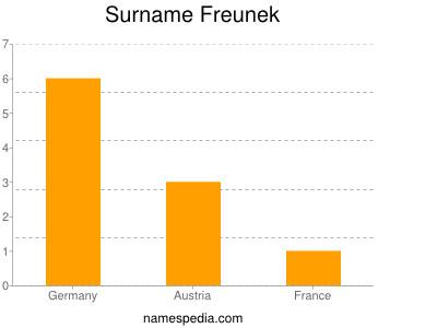 Surname Freunek