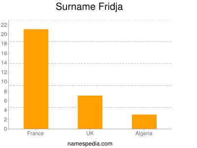 Surname Fridja