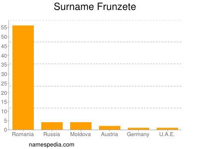 Surname Frunzete