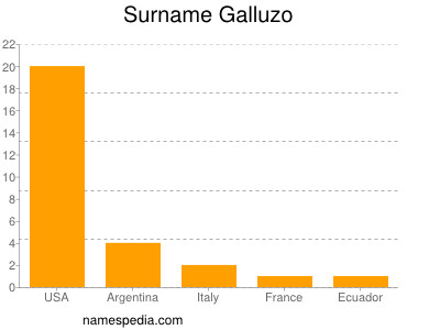 Surname Galluzo