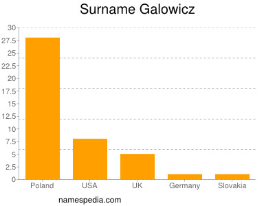 Surname Galowicz