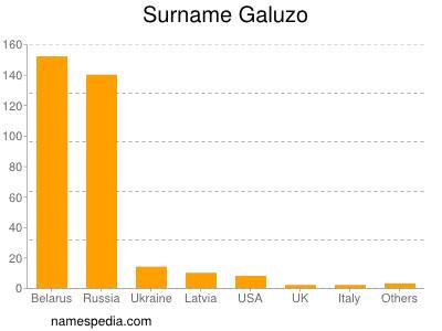 Surname Galuzo
