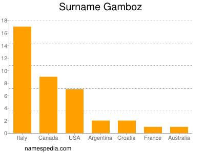 Surname Gamboz