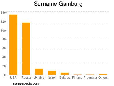 Surname Gamburg