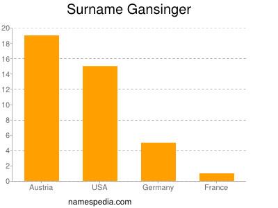 Surname Gansinger