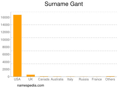 Surname Gant