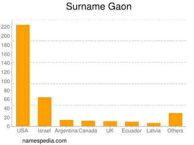 Surname Gaon