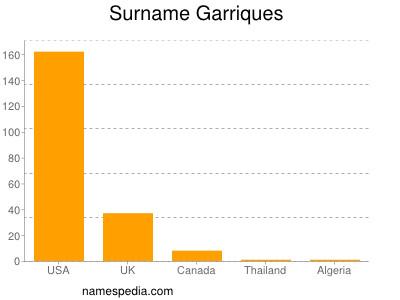 Surname Garriques