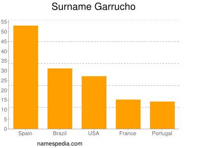 Surname Garrucho