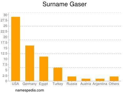 Surname Gaser
