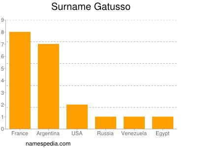 Surname Gatusso