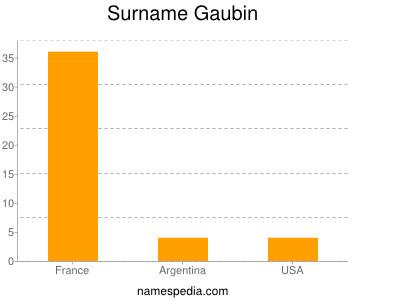 Surname Gaubin