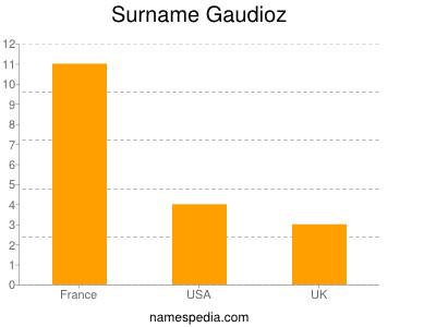 Surname Gaudioz
