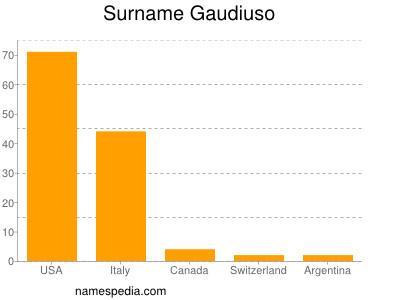Surname Gaudiuso