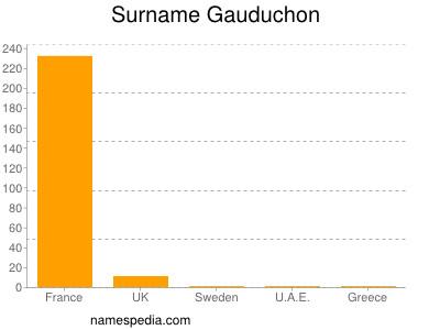Surname Gauduchon