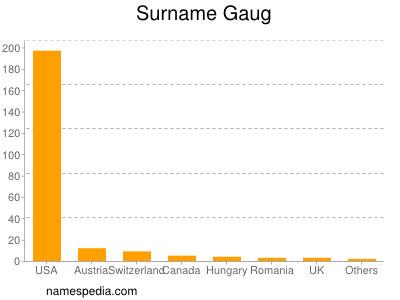 Surname Gaug