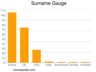 Surname Gauge