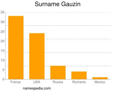 Surname Gauzin
