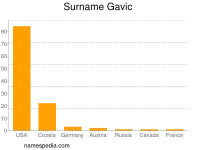 Surname Gavic