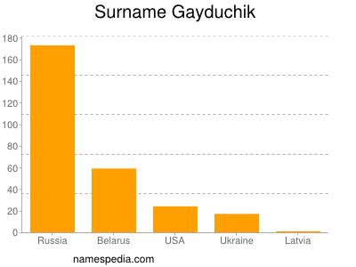 Surname Gayduchik