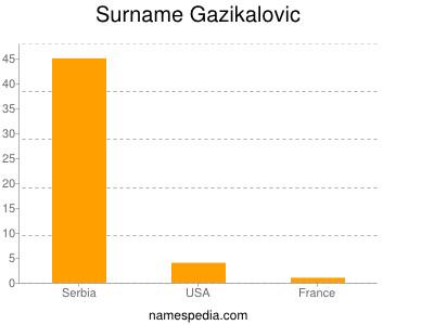 Surname Gazikalovic