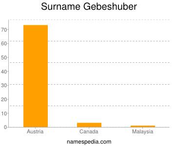 Surname Gebeshuber