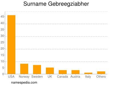 Surname Gebreegziabher