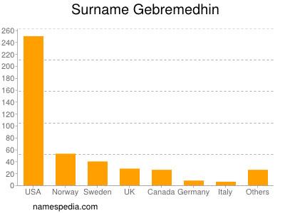 Surname Gebremedhin