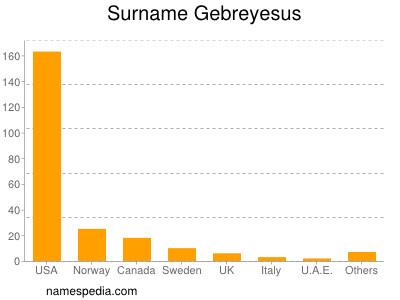 Surname Gebreyesus