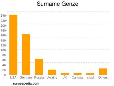 Surname Genzel